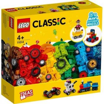 Lego CLASSIC 11014 Klocki na kołach