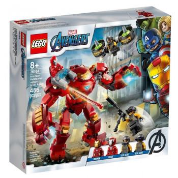 Lego SUPER HEROES Hulkbuster Iron Mana vs A.I.M