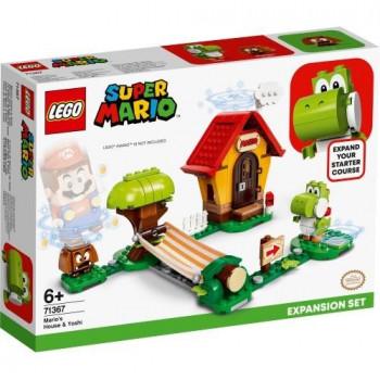 Lego SUPER MARIO 71367 Yoshi i dom Mario