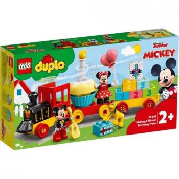Lego DUPLO Urodiznowy pociąg myszek Miki i Minnie