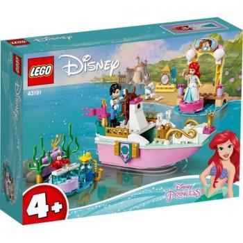 Lego DISNEY PRINCESS 43191 Świąteczna łódź Arielki