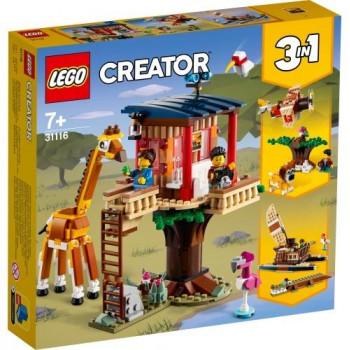 Lego CREATOR 31116 Domek na drzewie na safari
