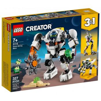 Lego CREATOR 31115 Kosmiczny robot górniczy