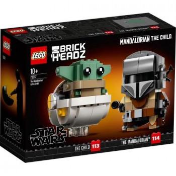 Lego STAR WARS 75317 Mandalorianin i Dziecko