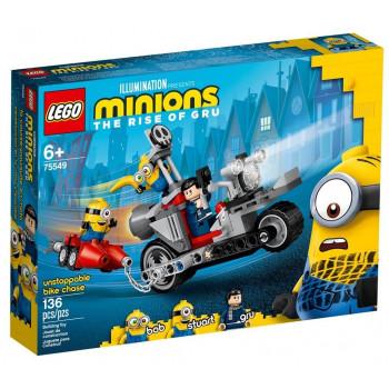 Lego MINIONS 75549 Niepowstrzymany motocykl ucieka