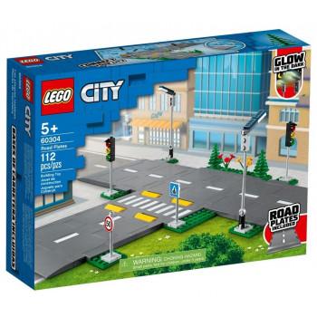 Lego CITY 60304 Płyty drogowe