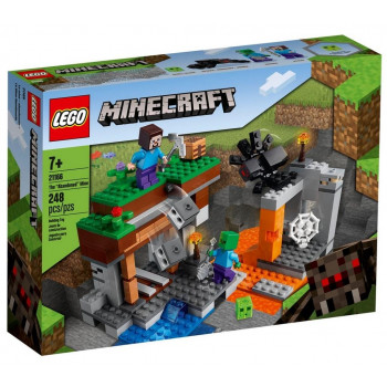 Lego MINECRAFT 21166 Opuszczona kopalnia