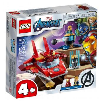 Lego SUPER HEROES 76170 Iron Man kontra Thanos