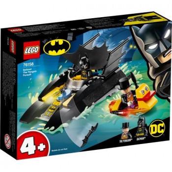 Lego SUPER HEROES Pościg Batłodzią za Pingwinem