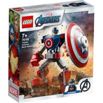 Lego SUPER HEROES Opancerzony mech Kpt. Ameryki