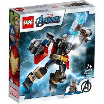 Lego SUPER HEROES 76169 Opancerzony mech Thora
