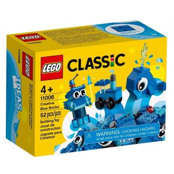 Lego CLASSIC 11006 Niebieskie klocki kreatywne