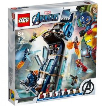 Lego SUPER HEROES 76166 Walka o Wieżę Avengersów