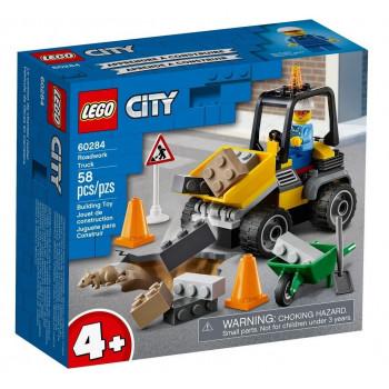 Lego CITY 60284 Pojazd do robót drogowych