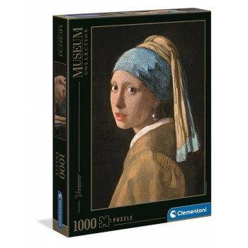 Puzzle 1000 Museum Girl with a Pearl Earring