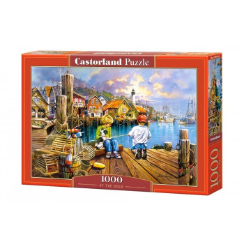 Puzzle 1000 At the Dock CASTOR