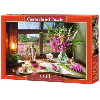Puzzle 1000 Still Life with Violet CASTOR
