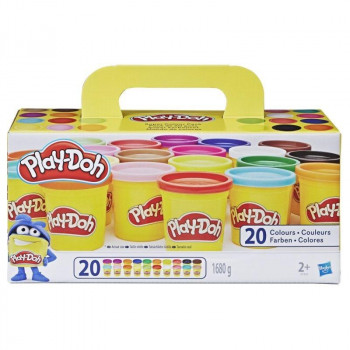 Super Colour Pack zestaw 20 tub Play-Doh