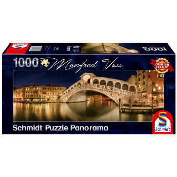 Puzzle PQ 1000 Manfred Voss Most Rialto/Wenecja G3