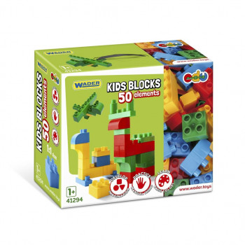Klocki Kids Blocks 50 elementów