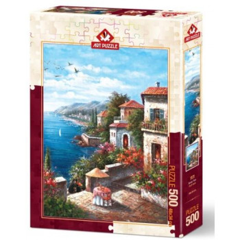 Puzzle 500 Wille nad morzem
