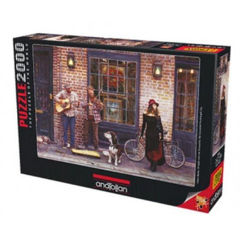 Puzzle 2000 Nowy Orlean, Muzycy na ulicy