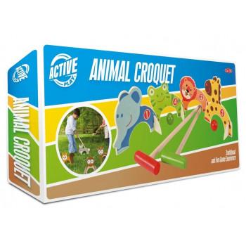 Krokiet dla dzieci ze zwierzątkami