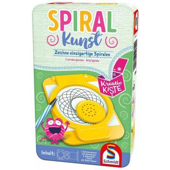 Spiral Kunst -Spiralna sztuka (w metalowej puszce)