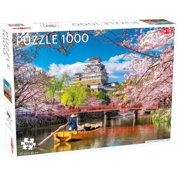 Puzzle 1000 Cherry Blossoms in Himeji