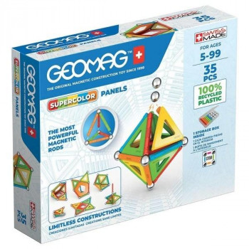 Geomag Supercolor Panels Recycled 35 el.