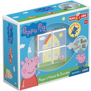 Geomag Magicube Peppa Pig Peppa's House & Garden