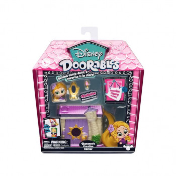 Doorables Zestaw Mini Kreatywny kącik Roszpunki
