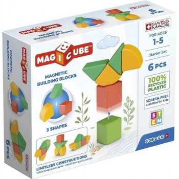 Geomag Magicube 3 Shapes Recycled Starter 6 el.