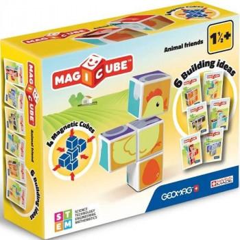 Geomag Magicube Animal Friends + Cards 7 el.