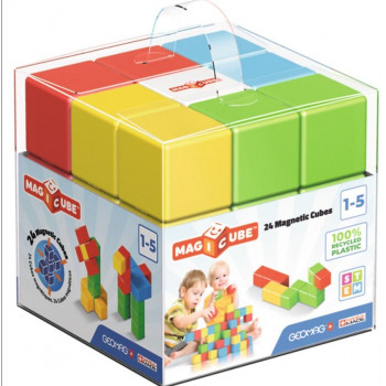 Geomag Magicube Full Color Recycled Crystal 24 el.