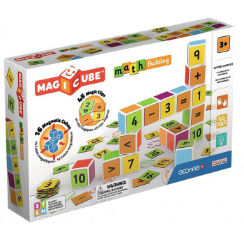 Geomag Magicube Maths Building + Clips 61 el.
