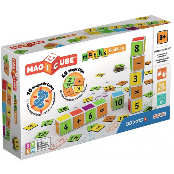 Geomag Magicube Maths Buildings + Clips 55 el.