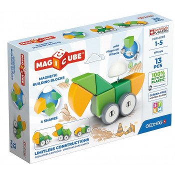 Geomag Magicube 4 Shapes Recycled Wheels 13 el.