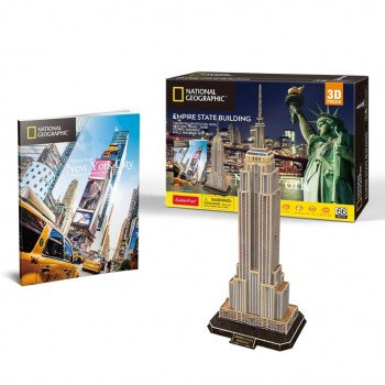 Puzzle 3D Empire State Building NG