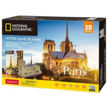 Puzzle 3D Notre Dame National Geographic