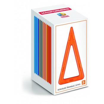 Magformers Single Set wysokie trójkąty 12el