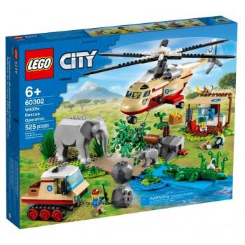 Lego CITY 60302 Na ratunek dzikim zwierzętom