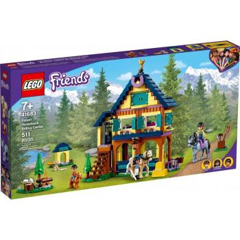 Lego FRIENDS 41683 Leśne centrum jeździeckie
