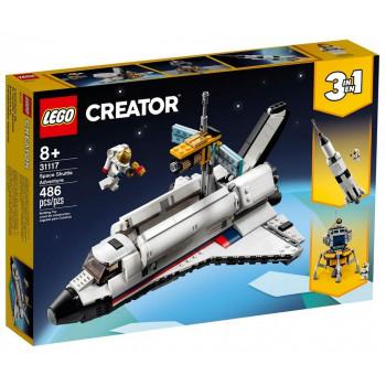 Lego CREATOR 31117 Przygoda w promie kosmicznym