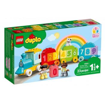 Lego DUPLO 10954 Pociąg z cyferkami nauka liczenia
