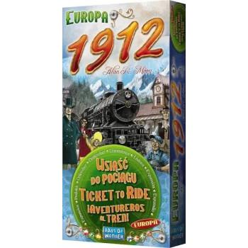 Wsiąść do Pociągu: Europa 1912 edycja 2021 REBEL  - Dodatek