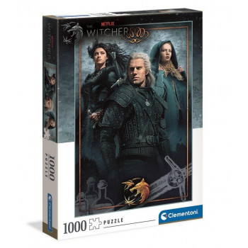 Puzzle 1000 The Witcher