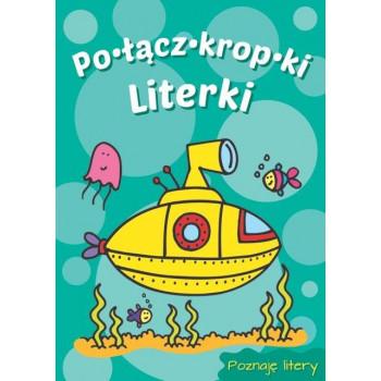 Połącz kropki - Literki (łódź podwodna)