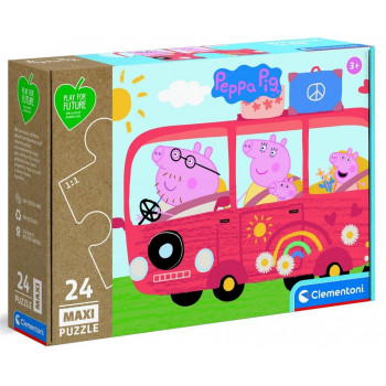 Puzzle 24 Maxi Play For Future Peppa Pig