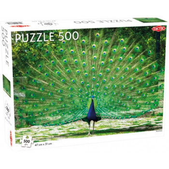 Puzzle 500 Peacock